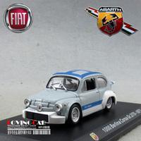 FREE SHIPPING1:43 Italian HACHETTE Abbas ABARTH BERLINA CORSA alloy furnishings Cars