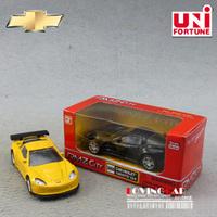 FREE SHIPPING1:64 palm-sized Chevrolet Corvette sports car alloy Yufeng back mini car / pocket car