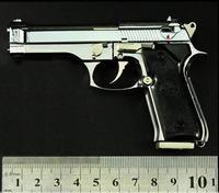 1/2.5 metal high simulation gun Italia Beretta M92F handgun police toy pistol gun model