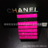 Full rhinestone yanhe rhinestone women's pasted cigarette case quality smoking color block yanhe