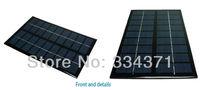 10pcs/Lot 9V 0.33A 3W mini solar panels small solar power 3.7v battery charger solar Led light solar cell free shipping