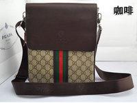 free shipping!new fashion cheap brand designer shoulder bag high quality geniune leather messenger bag for man