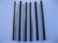 12 pcs SMD SMT Pitch 2.54mm 2x40 80pin Breakable Male Pin Header Double Row Strip Gold Plated