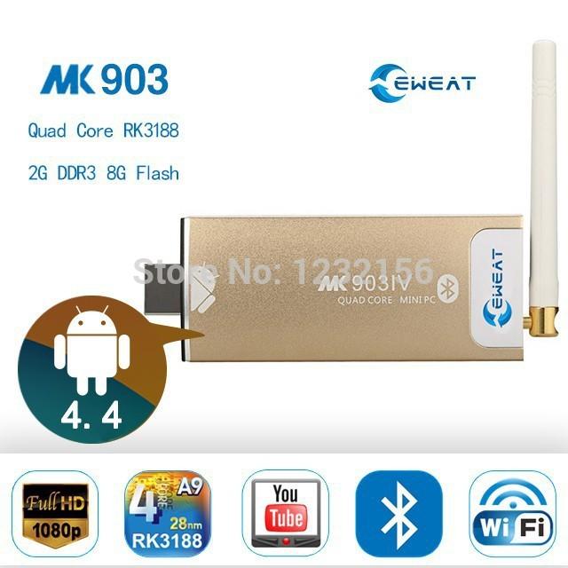 2014 New GK525 Miracast Android TV Box Quad Core Smart TV Stick RK3188 2G/8G HDMI WiFi IPTV Skype Camera MIC Media Player(China (Mainland))