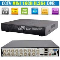 2014 Newest 16 Channel Video Security CCTV Digital Video Recorder 16CH DVR H.264 Standalone Mini DVR 16 CH