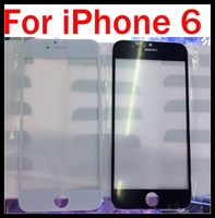 For iPhone 6 Outer Glass Lens Digitizer Cover Front Screen Lens Repair Parts for iPhone 6 4.7 inch DHL Free shipping