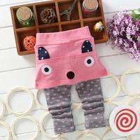 New 2014 Korean Boy Pants Autumn 100% Cotton Audel Cute Girl Leggings