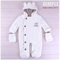 Spring and Autumn Baby Clothing  Long Sleeve  Hoodie Baby rompers 100%Cotton