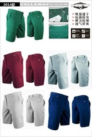 2014 Free-shipping High Quality Sport Fast Dry Golf Shorts with Cotton & Spandex Fibra Shorts