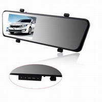 "2014 New Arrival Ultrathin 3.0MP CMOS Car DVR Mirror Camera 4.3"" 140 Degree Wide Angle Full HD 1080P Novatek Recorder Car Cam"