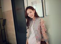 Free shipping 2014 za* Brief  printed Blouse  women shirt  Blusa sweater  American apparel  Summer-Autumn S M L