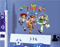 New vinyl wall sticker for kids rooms home decor decals adesivos de parede stickers Toy story