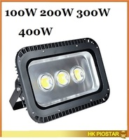 wholesale outdoor led floodlight 100w 200w 300w 400w waterproof IP65 85-265v warm white or cold white free shipping