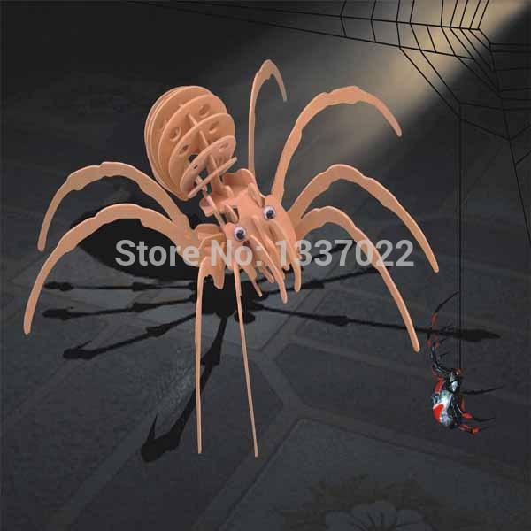 Black Widow Wooden Puzzles(China (Mainland))