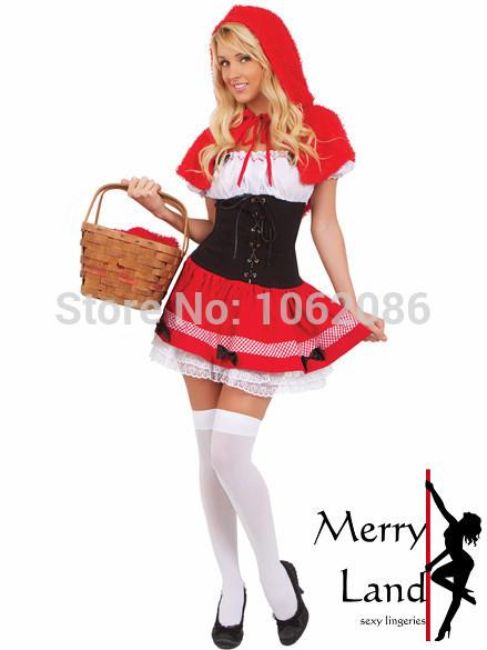 Хэллоуин 2014 Красная Шапочка костюм ролевая игра служба.