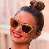 NEW 2014 sunglasses women brand designer fashion vintage sunglasses oculos de sol  810