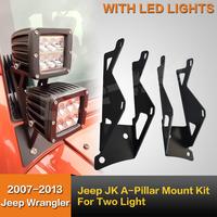 Universal Light Mount Kit ,A-Pillar Mount Kit, Model JK-DM for jeep