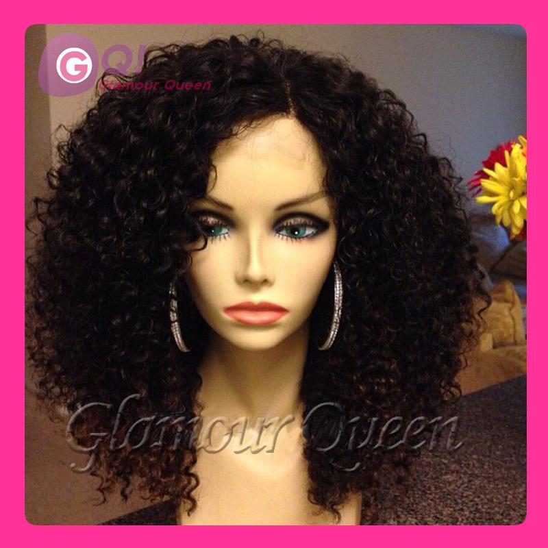 Brazilian Kinky Curly Lace Wigs 90