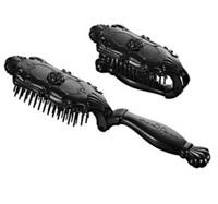 Vintage luxury queen - vintage comb rose black folding comb
