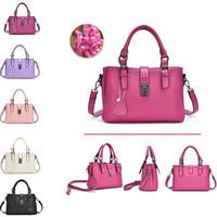 Genuine Leather Bag Women Fashionable Weave Handbag in Totes Female Casual Bolsa Messenger Bag Cowhide Shoulder Bag Famous Brand