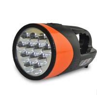 Led glare flashlight charge outdoor emergency household hand lamp flashlight
