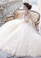 2014 New Beautiful Sweetheart Wedding Dress Bridal Gown Us Size : 4 6 8 10 12 14 16 18 20 +++++