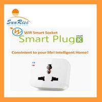 Kankun Smart Wifi Plug Socket for Iphone Smartphone Smart socket Wireless Switch Intelligent Smart WIFI Socket  EU/UK/US/AU Pulg