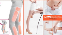 Hot sale MYMI wonder patch lower body treatment patch as slimming leg arm lose weight fat burning paster for body beauty shaping