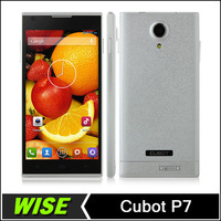 Original  Cubot P7  MT6582M Quad Core  Smartphone Android 512MB RAM 4GB ROM 5.0 Inch IPS HD Screen 8MP Camera