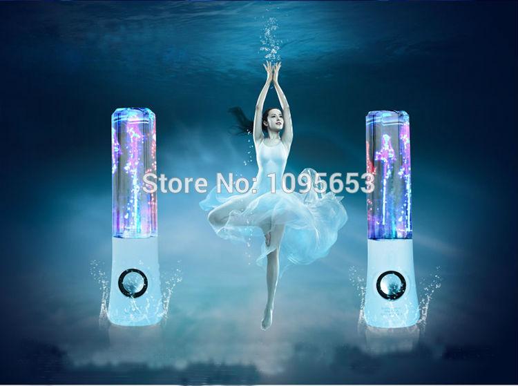 Professional Best Sale Patented Technology Diamond Design Universal Led Dancing Water Speaker(China (Mainland))