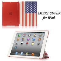 50pcs/lot,Smart Cover Case for Apple iPad air,for iPad mini.(LJ-MB-10)