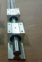 1pcs  SBR16 L =  1200mm  16mm fully supported linear rail guide  + 2 pcs SBR16UU Linear Bearing Blocks