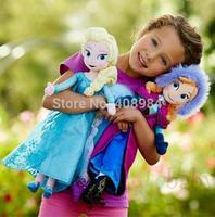 50cm Doll Frozen Princess Elsa  Anna Plush Doll Toy for Children Dolls & Stuffed Toys   Frozen Brinquedos Frozen Doll Toy