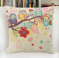 45cm*45cm Decorative Throw Pillow Cover Cotton Linen Sofa Cushion Cover Pillowcase Home Decoration