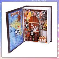 Christmas gift  mini books nautical diary diy hut hut creative handmade birthday gift diy model