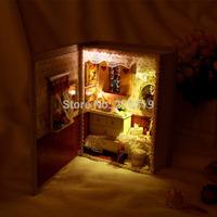Christmas gift mini books girlfriends diary hut hut creative diy handmade birthday gift diy model