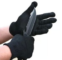 Free Shipping New arrival 100% Kevlar working Protective Gloves Cut-resistant Anti Abrasion Safety Gloves Cut Resistant Level 5