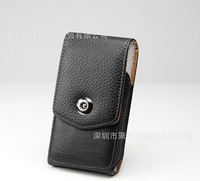2014 Holster Belt Clip Leather Case For Samsung Galaxy S2 S 2 II i9100 i 9100 Used in Climb Ride Outdoor activities