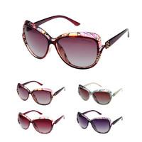 coating sunglass brand women large frame glasses polarized retro gradation gafas oculos de sol feminino