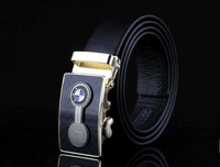 First layer leather belt Men's leather belt new image automatic buckle belts