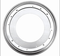 eight inches Round Swivel Plate 360-degree rotating flexible