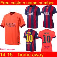 Soccer jersey 2015 camiseta shirt home jersey football shrit   away jersey Thailand Quality