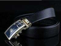 Wholesale belt head layer High-end men's automatic   buckle leather belt