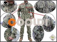Free shipping EMERSON NWU Type III AOR2 Uniform EM6892 NEW COLOR