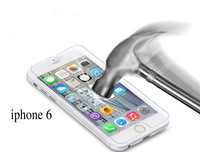 free shipping ultra thin 0.3mm premium Tempered Glass screen protector for iPhone 6 6G explosion proof film