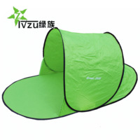 Free shipping Newest 1-2 People Automatic folding Beach tent outdoor camping tent fishing tents sun awning gazebo sleeping pad