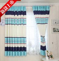 2 meters short curtain finished product  short curtain semi-shade full shade cloth balcony curtain