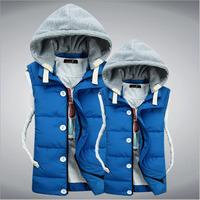 CD-65 Mens vest Casual Waistcoat men Sleeveless jacket Mens vest Down vest Veste homme Autumn winter Male vest Men's vest