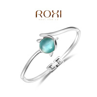 ROXI Gift Classic  top swiss zircon Crystals luxury platinum Bracelet for party
