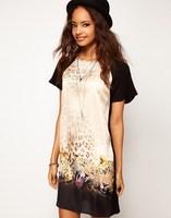 Free Shipping 2014 za* over size Dresses shorts women Saias Dress American apparel Summer-Autumn